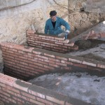 consolidation of brick vault